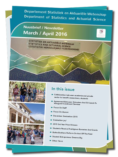 University Of Stellenbosch PDF Newsletter