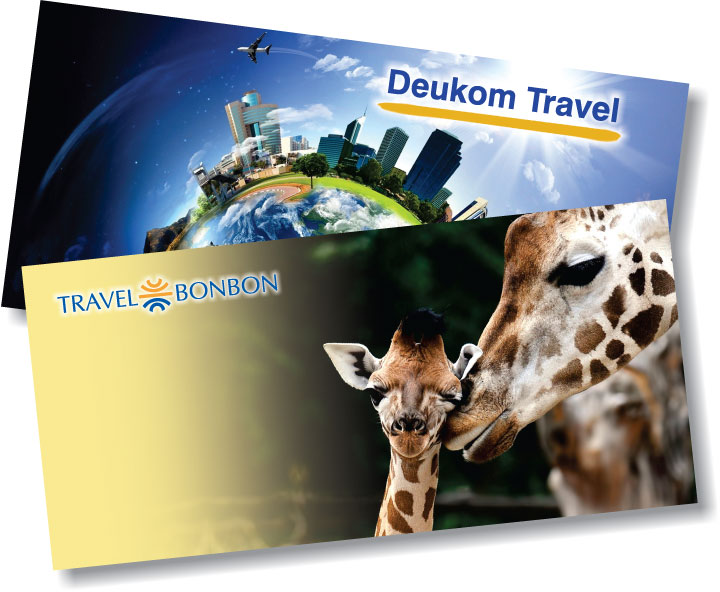 Deukom Travel Ticket Covers